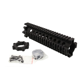 "Madbull 9"" DD 7.62 LITE RAIL (Black)-Rails-Crown Airsoft"