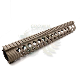 "Madbull 7.25"" FREE FLOAT RAIL-Rails-Crown Airsoft"