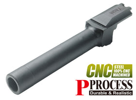 9MM Steel Outer Barrel for TM M&P9-Internal Parts-Crown Airsoft