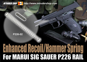 Enhanced Recoil/Hammer Spring for MARUI/KJ/WE P226 (150%)-Internal Parts-Crown Airsoft
