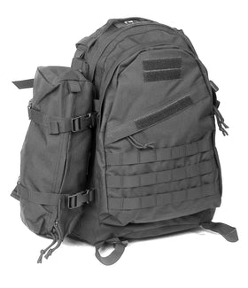 Phantom tactical gear 3Day combat backpack(Black)-Combat Gear-Crown Airsoft