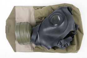 Phantom Tactical Gas mask pouch(Tan))-Combat Gear-Crown Airsoft