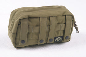Phantom Tactical Horizontal Utility pouch (Tan)-Combat Gear-Crown Airsoft