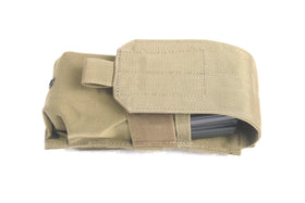 Phantom Tactical M4 magazine pouch (Tan)-Combat Gear-Crown Airsoft
