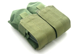 Phantom Tactical M4 double magazine pouch(Olive Drab)-Combat Gear-Crown Airsoft