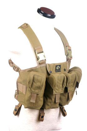 Phantom Tactical AK chest rig (Tan)-Combat Gear-Crown Airsoft
