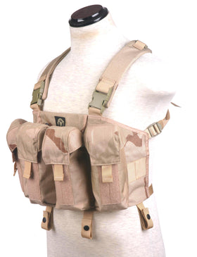 Phantom Tactical AK Chest Rig (Tri-desert )-Combat Gear-Crown Airsoft