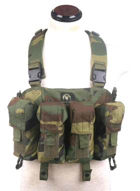 Phantom Tactical AK Chest Rig (Woodland)-Combat Gear-Crown Airsoft