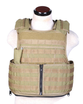 Phantom Tactical RAV Body armor (Tan)-Combat Gear-Crown Airsoft