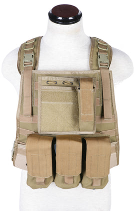 Phantom Tactical Strike Plate carrier w/ pouch set (Tan)-Combat Gear-Crown Airsoft