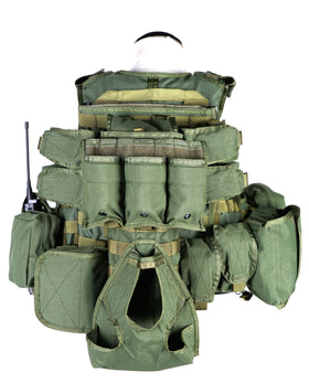 Phantom Tactical RAV Body Armor w/ pouch set (Olive Drab)-Combat Gear-Crown Airsoft