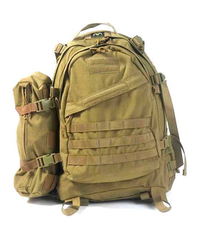 Phantom Tactical 3Day backpack(Tan)-Combat Gear-Crown Airsoft