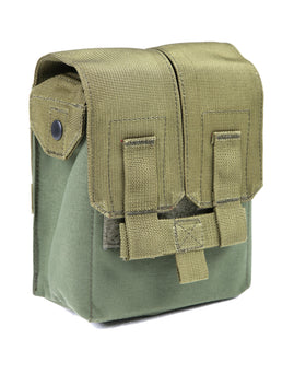 Phantom Tactical M249 drum mag pouch(Olive Drab)-Combat Gear-Crown Airsoft
