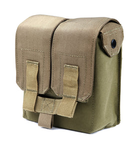 Phantom Tactical M249 drum mag pouch(Tan)-Combat Gear-Crown Airsoft