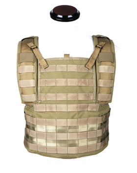Phantom Tactical RRV Chest Rig MOLLE Platform(Tan)-Combat Gear-Crown Airsoft
