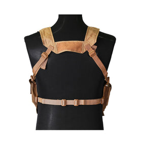 Nylon Low profile Combat Chest Rig-Combat Gear-Crown Airsoft