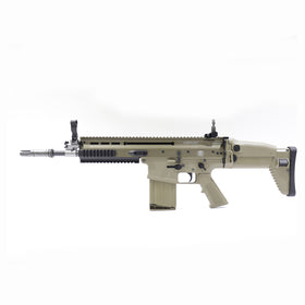 CYBERGUN FN HERSTAL SCAR-H STD (TAN)-Rifles-Crown Airsoft