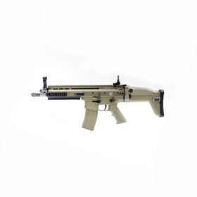 CYBERGUN FN HERSTAL SCAR-L STD GBB Rifle (Tan)-Rifles-Crown Airsoft