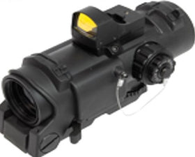 BOG SSR2802 DR Scope 4x32 with MRDS (Black)
