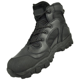 "Tactical Tracker TT06 combat boots 6"" (Black)-combat gear-Crown Airsoft"