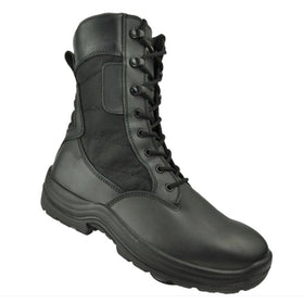 Tactical Tracker V2B Combat Boots (Black)-combat gear-Crown Airsoft