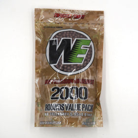 WE 0.36G 2000RD-BB ammo-Crown Airsoft