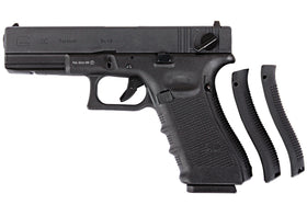 WE Tech G18C Gen4 GBB Pistol (Black)-Pistols-Crown Airsoft