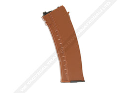 30-rd Gas Magazine for AK GBB series (ABS shell- BROWN)-Rifle Magazines-Crown Airsoft