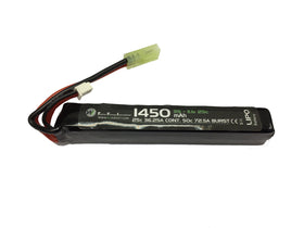 WETTI 1450mAh Li-Po 3S 11.1V 25C stick pack-Batteries-Crown Airsoft