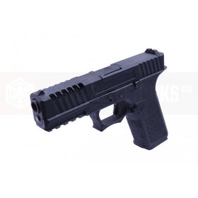 AW Custom AW-VX7100 Split Frame Hi-Capa GBB Pistol (Black)-Pistols-Crown Airsoft
