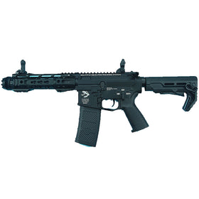 G&P Transformer Compact M4 Airsoft AEG with QD Front Assembly Cutter Brake-Rifles-Crown Airsoft