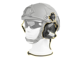 Earmor M31H MOD1 Electronic Hearing Protector for ARC Helmet Rails (FAST Helmet)-Radio - Headset-Crown Airsoft