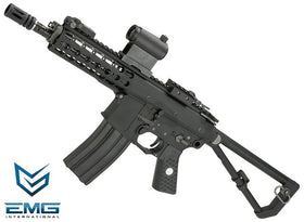 "EMG Knight's Armament Company KAC PDW M2 10"" GBB Rifle (Black / Tan)-Rifles-Crown Airsoft"