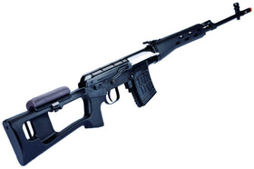WE Tech ACE SVD GBB Rifle (ABS Black)-Rifles-Crown Airsoft