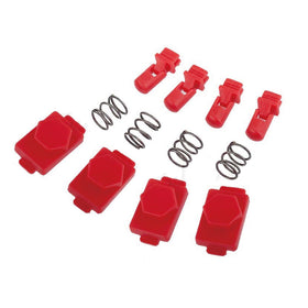 AEG HexID (Lava Red)-Magazine parts-Crown Airsoft
