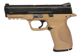 WE Tech Big Bird Dragon Scale GBB pistol (Tan)-Pistols-Crown Airsoft