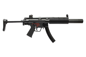 WE Tech Apache SD3 GBBR (Black)-Rifles-Crown Airsoft