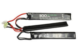 WETTI 1100mAh Li-Fe 3S 9.9V 20C 3-split pack-Batteries-Crown Airsoft