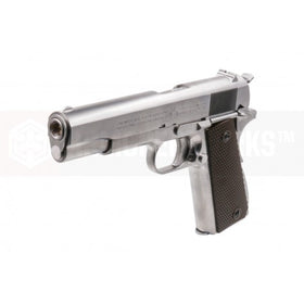 CYBERGUN COLT 1911A1 (SILVER)-Pistols-Crown Airsoft