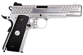 WE-054GS KAC KnightHawk(Chrome)-Pistols-Crown Airsoft