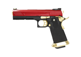 AW Custom Hi-Capa Competition Grade Gas Blowback Airsoft Pistol HX1104-Pistols-Crown Airsoft