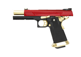 AW Custom AW-HX1104 Hi-Capa GBB Pistol (RED)-Pistols-Crown Airsoft