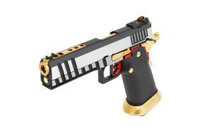 AW Custom Competitor Hi-Capa Gas Blowback Airsoft Pistol - HX2001-Pistols-Crown Airsoft