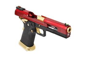 AW Custom AW-HX1004 Split Frame Hi-Capa GBB Pistol (RED)-Pistols-Crown Airsoft