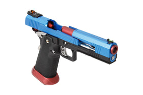 AW Custom Split Frame Hi-Capa Competition Grade Gas Blowback Airsoft Pistol - Two-Tone HX1005-Pistols-Crown Airsoft