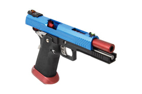 AW Custom AW-HX1105 Hi-Capa GBB Pistol (BLUE)-Pistols-Crown Airsoft