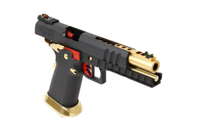 AW Custom AW-HX2002 Hi-Capa GBB Pistol (Gold/Black)-Pistols-Crown Airsoft