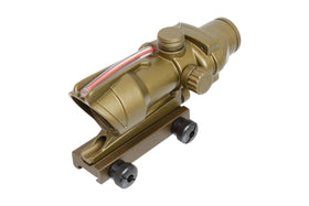 BOG SSR 0207 TA31 rifle scope style Red/Green Dot sight(FDE)-Scopes & Optics-Crown Airsoft