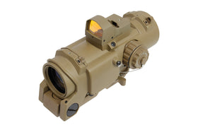 BOG SSR2802 DR Scope 4x32 with MRDS (FDE-Scopes & Optics-Crown Airsoft