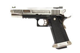 WE Tech Hi-Capa Force T-Rex 5.1 GBB Pistol (Silver)-Pistols-Crown Airsoft